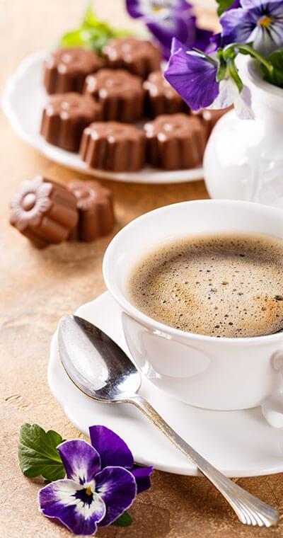 Etwas Süsses zum Kaffee in Ihrem Café Gloria