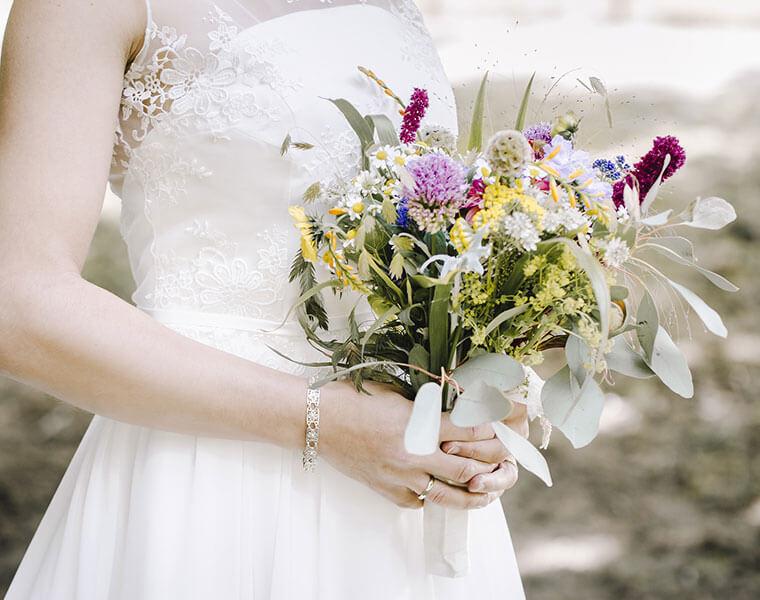 Hochzeitssträusse individuell für Sie bei Blumen Bachhubers Florale Welten in Zwiesel