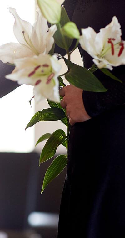 Blumen zum Abschied