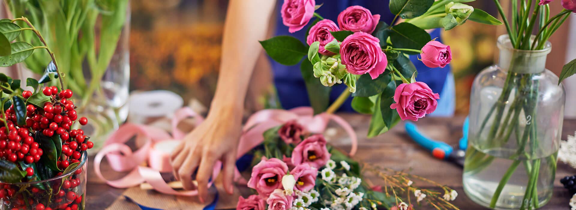 Blumenstrausse zu jedem erdenklichen Anlass bei Blumen Bachhubers Florale Welten in Zwiesel